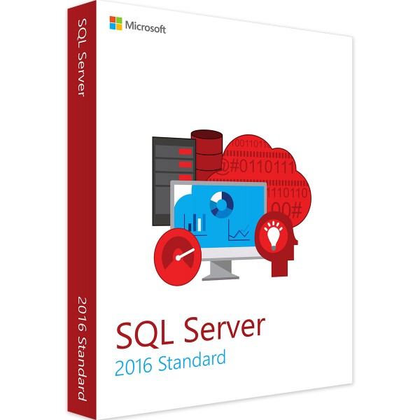MICROSOFT SQL SERVER 2016 STANDARD