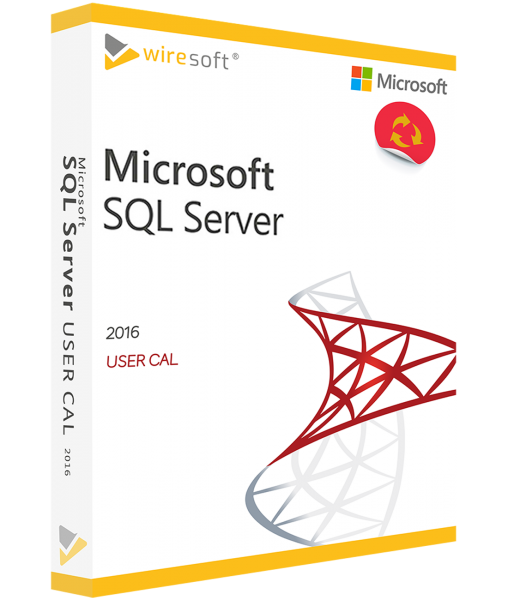MICROSOFT SQL SERVER 2016 USER CAL