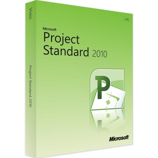 MICROSOFT PROJECT 2010 STANDRAD