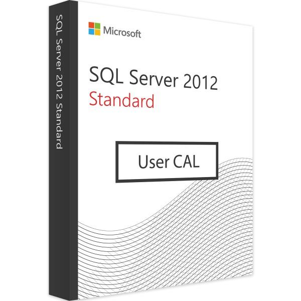 MICROSOFT SQL SERVER 2012 USER CAL