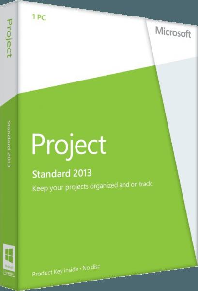 MICROSOFT PROJECT 2013 STANDARD