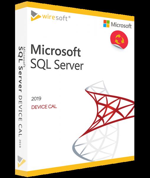 MICROSOFT SQL SERVER 2019 DEVICE CAL