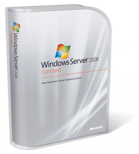 MICROSOFT WINDOWS SERVER STANDARD 2008